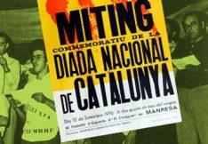 El míting de la Diada Nacional del 1976 a Manresa