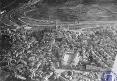 Fotografies aèries de Manresa, de l'any 1929, del manresà Josep Gaspar