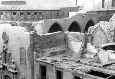 Imatges dels enderrocs de les esglésies, l'any 1936