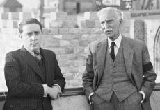 Josep Maria Planes i el president Macià
