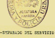 Cens de depurats pel franquisme a l'Ajuntament de Manresa