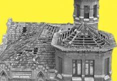 L'intent d'enderrocar la Casa Lluvià de Manresa